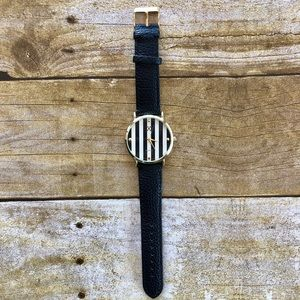4 for $20 Charming Charlie Black and Gold Watch